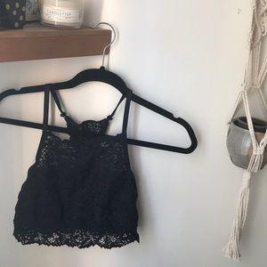 Aerie Black Bralette